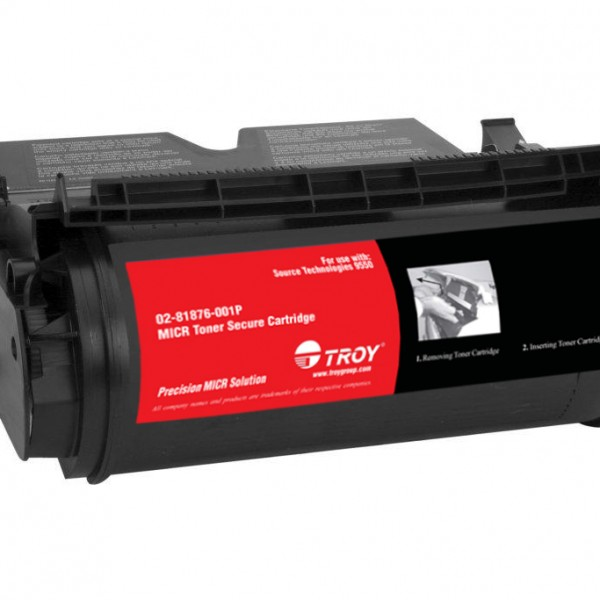 TROY Precision MICR Toner Secure for use with ST 9550