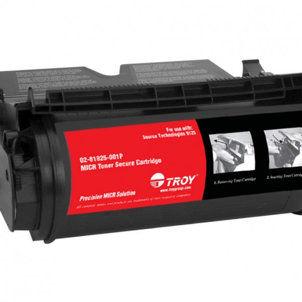 TROY Precision MICR Toner Secure for use with ST9120 / Lexmark 520 Series