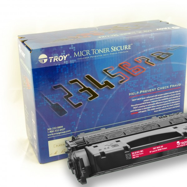 TROY m401 / m425mfp MICR Toner Secure HY Cartridge
