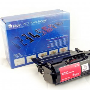 TROY Precision MICR Toner Secure for use with Lexmark T650 and Dell 5230 Printers