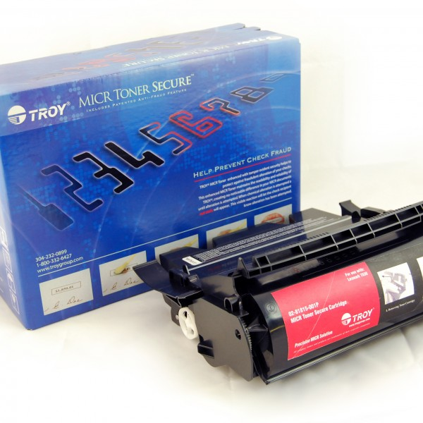 TROY Precision MICR Toner Secure for use with Lexmark T630 Series