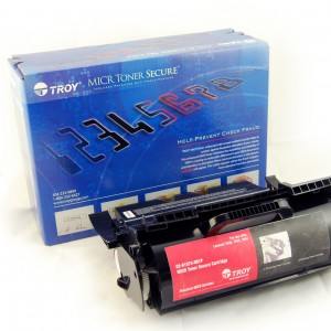 TROY Precision MICR Toner Secure for use with Lexmark T64x Series and Dell 5210/5310
